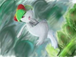 Ralts by DemonFlare2343