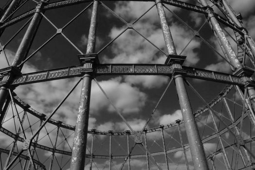Victorian gasholder Bow London by Meccaphi