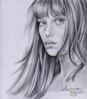 Jane Birkin I by nabey