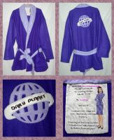 Lois Lane Smoking Jacket-Robe by UrsulaPatch