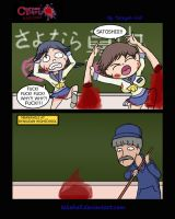 Corpse Party Blood Comics # 2 by TeKeHall