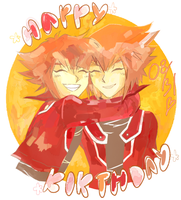 Happy Birthday Judai!!!! by pitoto