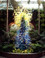 Palm Court Tower - Full View by axelfear
