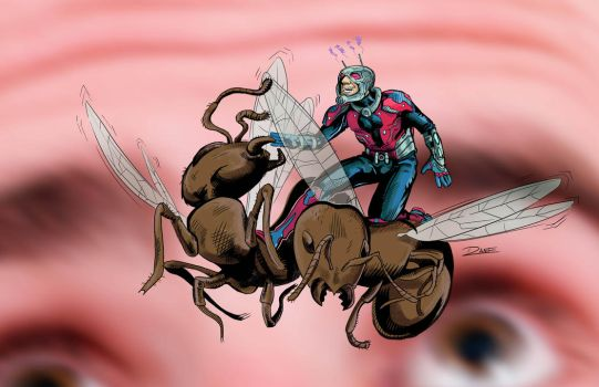 Astonishing Ant-Man Color by theDANEtrain