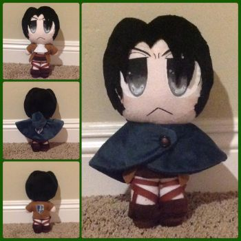 Levi plushie by Technoloaf