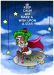 Keep Calm and Make a Wish Upon a Star by Enide-Kant