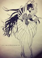 Nature inspired fashion design 6 by nilec88