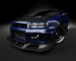 New Nissan Skyline by stefanmarius