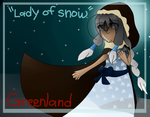 [APH] Greenland - Lady of Snow by poi-rozen