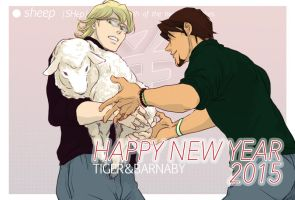 New Year's Greeting Card by nekotori-shippo