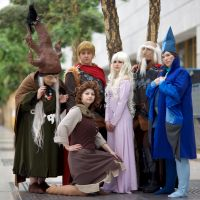the last unicorn Cosplay Group by Flitzichen