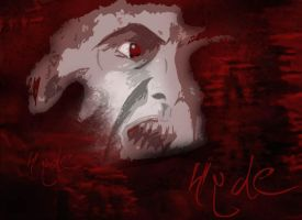 Mr. Hyde Wallpaper by spiritofthebeast
