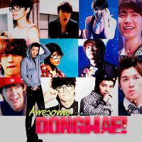 Always Awesome Donghae by NileyJoyrus14