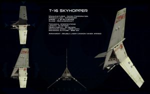 T-16 Skyhopper ortho by unusualsuspex