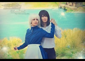 Howl and Sophie II by LauraNikoPhantomhive