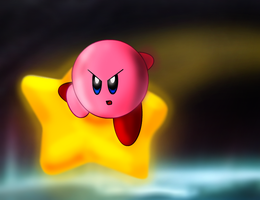Just Kirby by mitchell00
