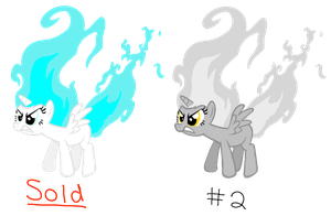 MLP Flaming Alicorn Overlord Adopts 4 CLOSED by FinalSmashPony