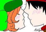 Style: First Kiss by CrazyCartoonGirl
