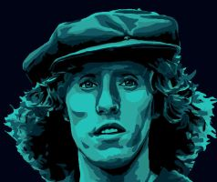 Roger Daltrey in a hat by AmandaDeLonge