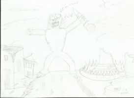 Personification Of Nepal Earthquake by joey2132132