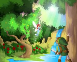 Zelda: Return to Roots by AIBryce