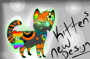 Kittens New Design! April Fools Joke by MissKittens