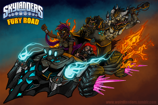 Skylanders : MadChargers by WeirdHyenas