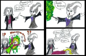 Bellatrix vs. Mary-Sue by nihilisticbrat