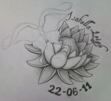 Birth Lotus by tattoo-parlour