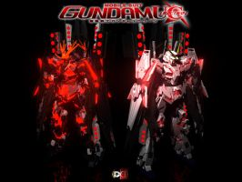 Gundam Unicorn Comp No.2 by DareDesignStudio