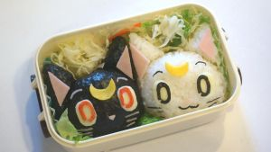 Sailormoon Themed Bento (tutorial inside) by minicuteclub