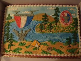 eagle scout cake art by nlpassions