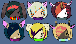 8 Point adopts by Cadycatt0213