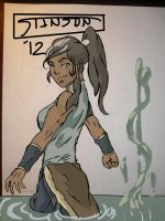 Korra Drawing: Episode 1 by stinson627