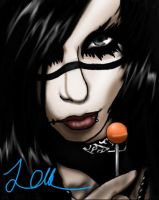 Andy Biersack by Blueturbin