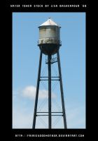 Water Tower Stock by FairieGoodMother
