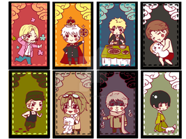 Hetalia: bookmark by Nathaniel-Aoife