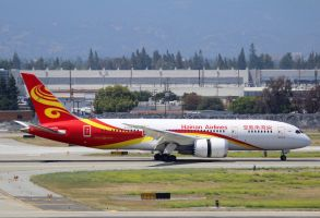 Hainan Airlines Boeing 787-8 by AnthonyC12