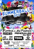 Kent Uni Summer Ball Poster by squiffythewombat