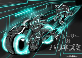 Sonic enters TRON : re-edited by AdamClowery