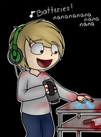 Pewdiepie: Outlast ~Batteries! nananaanananaa~ by HannaH-Joy64