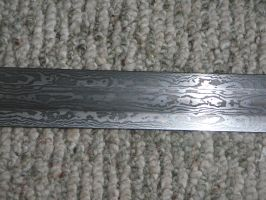 damascus blade by ABNSmith