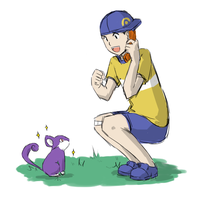 Youngster JoeyxJoey's Rattata by Jen-Jen-Rose