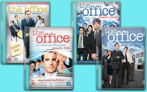 the office dvd icons by jmcaulayj