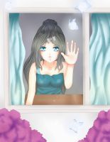 Mimi at the Window by Arielle14