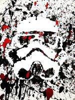 Stormtrooper Art by TiukiYoru