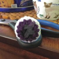 Crochet Eyeball by Bwabbit