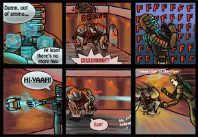 Dead Space 2 - Out of Ammo by Arabesque91