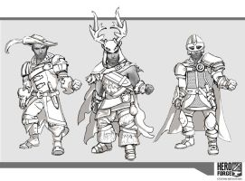 Hero Forge Concepts by thegryph