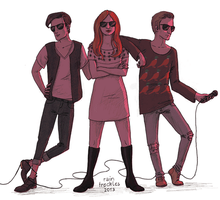 Karen and the Babes (animated) by RainFreckles